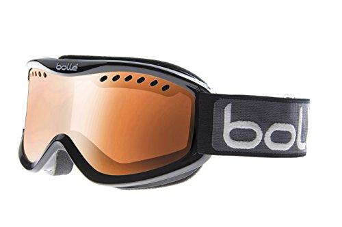 Bolle 20993 - maschera da sci adulto unisex, multicolore (shiny black/citrus gun), taglia unica