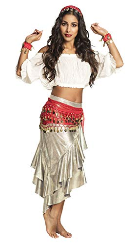Boland 00458 Kostümset Gypsy, Rot