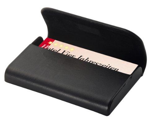 Sigel Torino. Materiales: Cuero, Color del producto: Negro, Capacidad de las tarjetas: 25 tarjetas. Ancho: 102 mm, Profundidad: 15 mm, Altura: 65 mm Peso y dimensiones -Ancho: 102 mm -Profundidad: 15 mm -Altura: 65 mm  Características -Materiales: Cu...