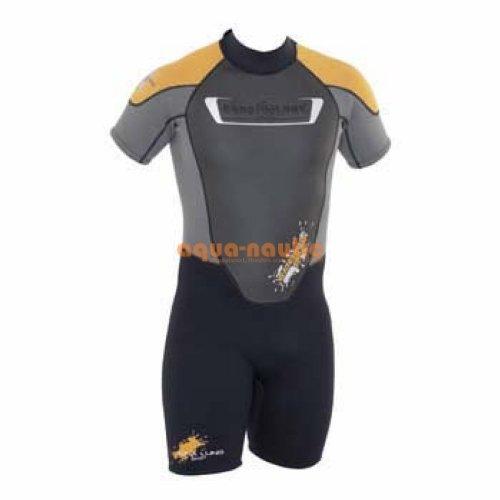 Aqua Lung Schwimmanzug Neopren für Männer Beach Fun Shorty Men Größe M [Misc.]