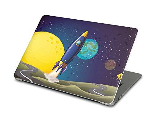 Preisvergleich Produktbild Folie Apple MacBook Air 13 | Laptoptaschen Schutz-Hülle Laptop-Aufkleber Folie Sticker Notebookschutz Design Skin | Design Motiv Space Rocket