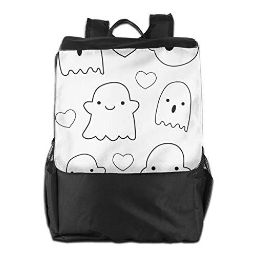 Kawaii Cute Ghost Unisex Casual Schultern Rucksack