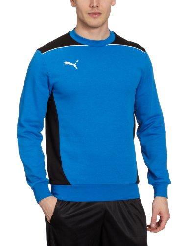 PUMA Herren Sweatshirt Foundation Puma Royal/black