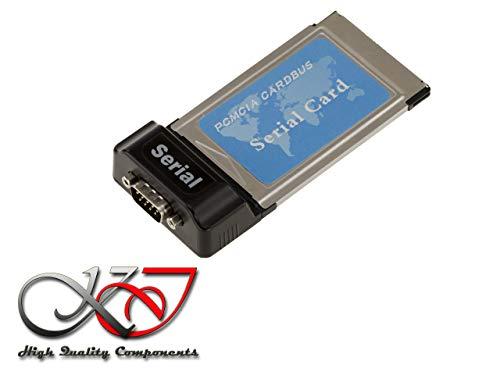 Kalea Informatique Karte PCMCIA/Cardbus-1Port Serie RS232-Port DB9auf Karte-Kompatibel Windows 98/98SE, ME, NT, 2000, XP, Vista
