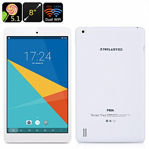 Chinavasion Teclast P80H Android Tablet - 8-Inch Display, 1280x800 Resolution, Google Play, OTG, HDMI Out, Quad-Core CPU, Dual-Band WiFi