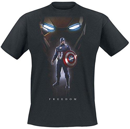 Captain America Civil War - Freedom T-Shirt nero M