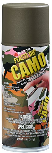 Plasti Dip Sprühfolie Spraydose -325 ml - Original Performix USA Farbe: Camo Grün -
