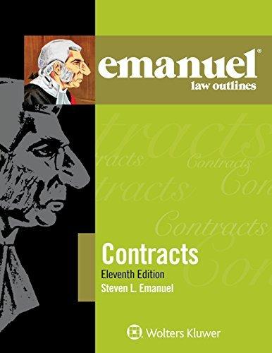 Emanuel Law Outline: Contracts (Emanuel Law Outlines) by Steven L. Emanuel (2015-10-06)
