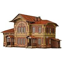 Comparador de precios Keranova keranova3091: 87Escala 26x 11,5x 26cm Clever Papel Edificios de Recogida de ferrocarril estación de Mozhayskaya 3D Puzzle - precios baratos