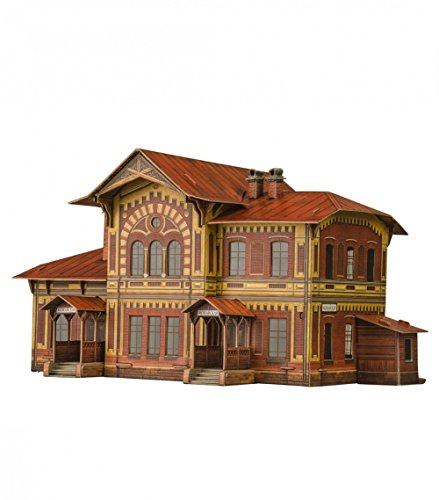 Umbum 309Maßstab 1: 8726x 11,5x 26cm Clever Papier Railway Collection Gebäude Station Preisvergleich