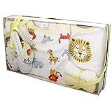 Bee Bo Luxus Box Neugeborene Baby 7pcs Geschenk-Set 0–3Monaten. Erhältlich in blau oder pink