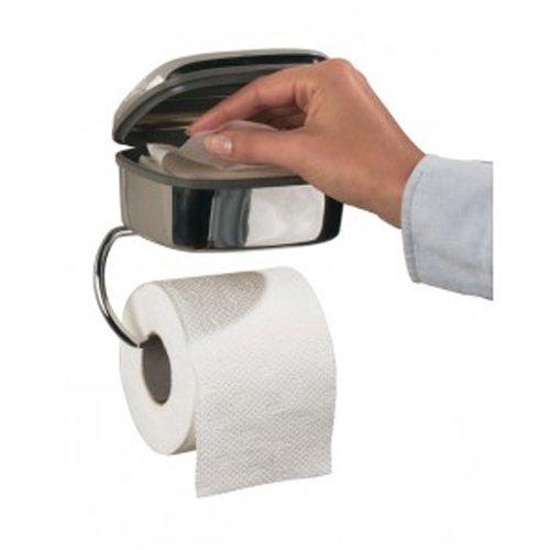 Tiger Combi-Toilettenpapier-Halter 4412 chrom Toilettenpapier-halter-chrom Wand