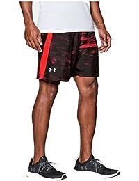 Under Armour UA LAUNCH 7'' WOVEN SHORT - Pantalón corto de  para Hombre, color Rojo (Rocket Red), talla S