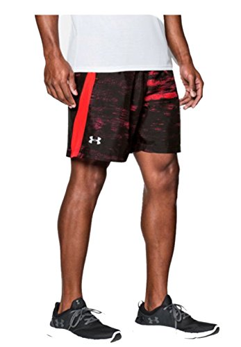 2015-under-armour-launch-woven-7-mens-sports-training-gym-fitness-shorts-rocket-red-large