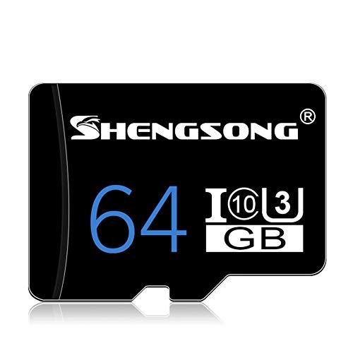 JYL High-Speed-Micro-SD-Speicherkarten 4 GB 8 GB 16 GB 32 GB 64 GB Speicherkarte Klasse 10 Micro-SD-Karte TF-Karte, für Smartphone-Laptop-Kamera 32 GB TF/SD-Karte,B -
