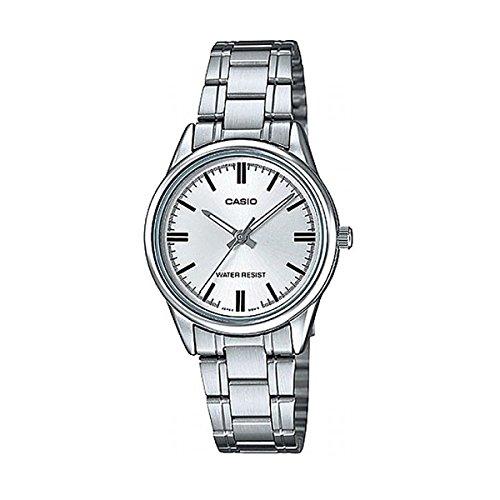 044538991499 Casio Reloj Analógico para Mujer de Cuarzo con Correa en Acero Inoxidable  LTP-V005D-