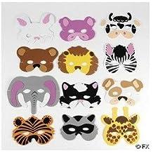Animal Masks Set 1 x 6 (máscara/ careta)