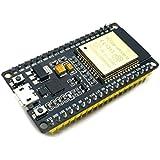 Hrph Tarjeta de desarrollo ESP32 Wireless WiFi Bluetooth 2-en-1 Dual Cores CPU ESP-32S Board