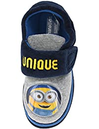 Boys Infant Minions Despicable Me Blue and Yellow Trainers Shoes Sizes 6-12