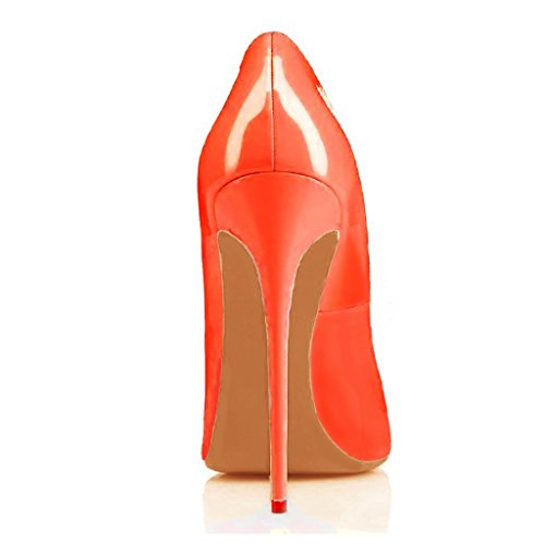 Arc-en-Ciel Damenschuhe Stiletto High Heel Pumps Orange