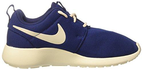 Nike Damen Wmns Roshe One Sneakers Blau (Binary Blue/oatmeal/oatmeal)