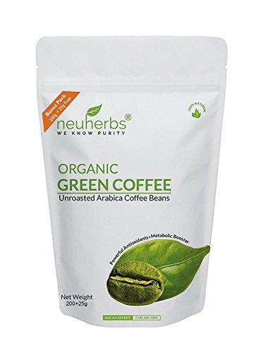Neuherbs Organic Green Coffee beans, 225g