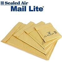 Mail Lite GOLD-  100 Sobres acolchados con burbujas Tamaño A/000 (110mm x 160mm)