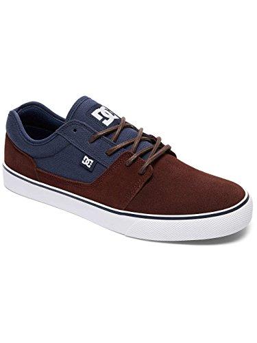 DC Shoes Tonik M Shoe Ngh, Chaussures de skateboard homme Bleu - Navy/Dk Chocolate