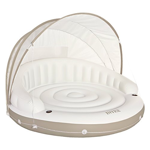 Intex - Isla hinchable Intex canopy crema - 199x150 cm - 58292EU