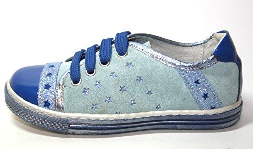 4Kids Sport Cherie 219 Kinder Schuhe, Mädchen, Halbschuhe (ohne Karton) Blau