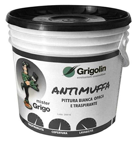 Pittura antimuffa - anti-condensa termico, colore bianco, 4.0 litri