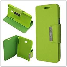 Misemiya ® - Funda Orange Luno / Huawei Ascend Y330 Agenda Soporte - Verde