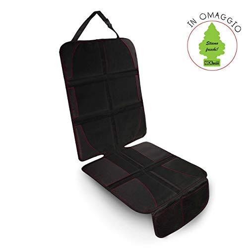 Nickinthebox - coprisedile auto universale bambino di 2a generazione, protettore per sedili posteriore e anteriore. per riparare il sedile dal seggiolino. arbre magique in omaggio