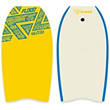 Flood Nazcoa Eps Bodyboard, Unisex Adulto, Amarillo/Blanco, 40