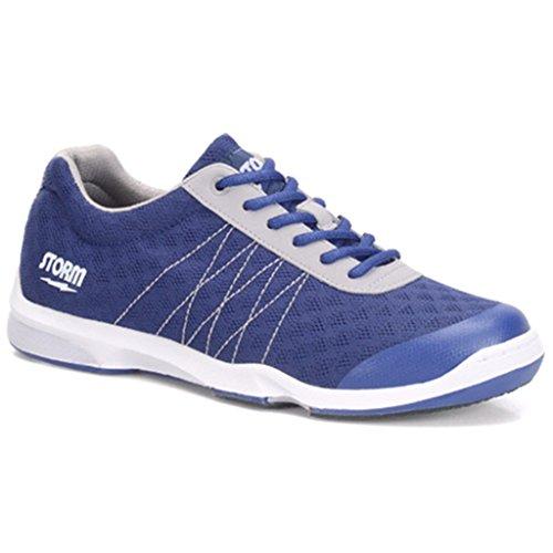 Storm Nodin Bowling Schuhe, Marineblau/Grau, Gr. 9,5 -