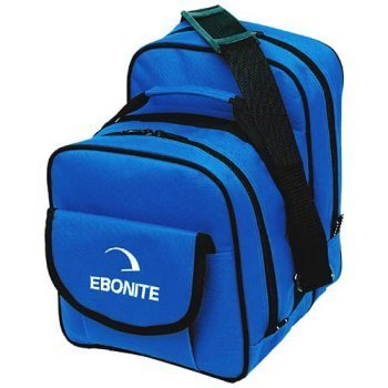 Ebonite 1 Ball Tasche COMPACT bright blue