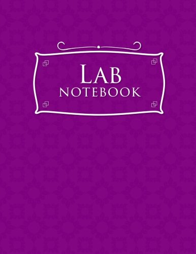 Lab Notebook: Kids Lab Notebook, Lab Notebooks With Grid Pages, Lab Notebook Graph Paper, Student Lab Notebook Chemistry, Purple Cover - Student Lab Notebook
