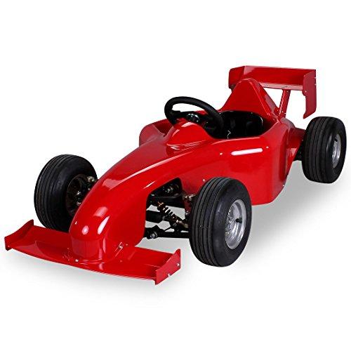Preisvergleich Produktbild Kinder Elektro MF1 Rennwagen 1000 Watt rot Kinder Go-Kart Kinderbuggy Rennauto