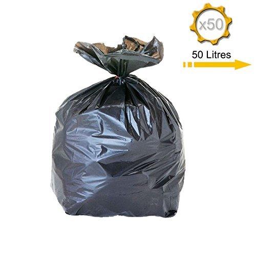 Sac poubelle 50 litres x 50