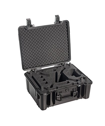B&W outdoor.cases Typ 61 mit Inlay für DJI Phantom 3 Standard, Advanced und Professional - Das Original