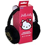 Kello Kitty HK8900B Cache-Oreilles Audio avec Prise Jack 3.5mm - Blanc/Rose