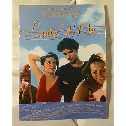 Dossier de presse de Conte d'été (1996) – Film de Eric Rohmer avec Amanda Langlet, Melvil Poupaud – Photos + synopsis – 8 p – État neuf.