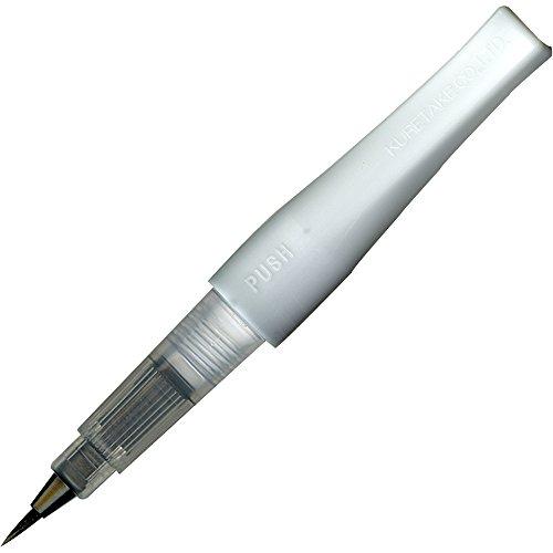 Kuretake ZIG glitter Fude Brush Pen, Wink of Stella Brush, GL, nero (DAI150-010P)