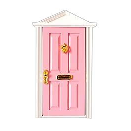 1:12 Porta Mobili In Legno Per Casa Delle Bambole In Miniatura Camera Stanza Accessori