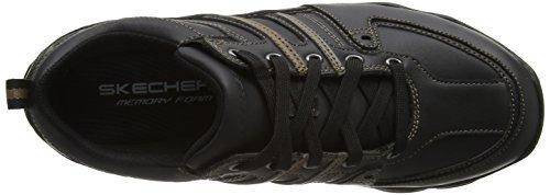 Skechers Diameter Selent, Oxfords Homme Noir (Blk)