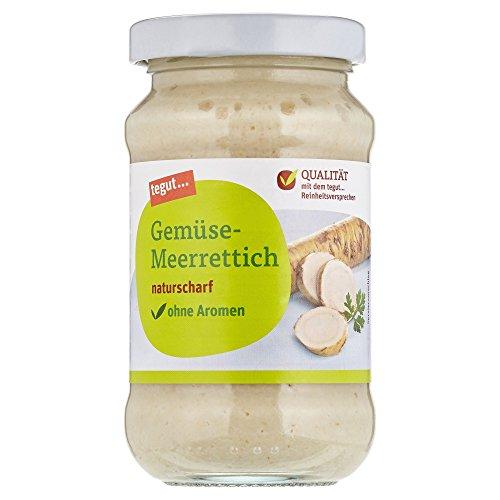 Tegut Gemüse-Meerrettich, 200 g
