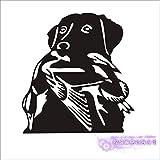 zxddzl Hunt Sticker Car Hunting Shound Hound Wild Duck Hunter Shop Posters Vinilo Tatuajes de Pared Decoración Chase Mural Sticker-62x58cm