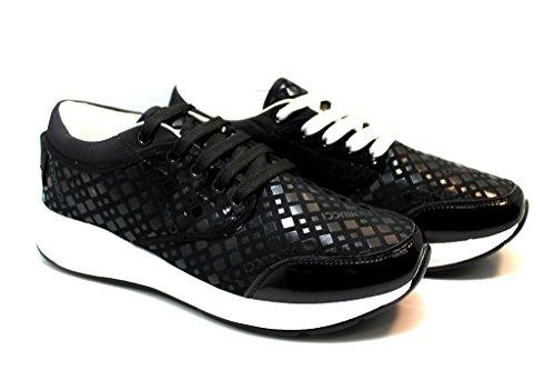 Fiorucci FDAB008 Nero Sneakers Donna Calzature Comode Woman Nero