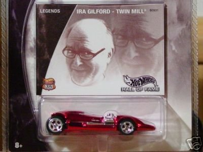 Mattel Hot Wheels 2002 Hall of Fame Legends 1: 64 Scale 35th Anniversary Ira Gilford Red Twin Mill die Cast denn by Mattel -