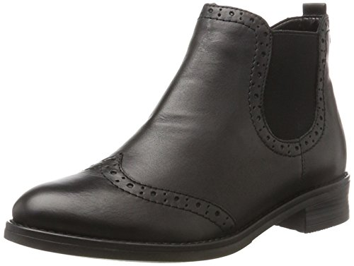 Remonte Damen D8581 Chelsea Boots Schwarz, 44 EU